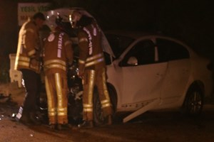 Pendik'te feci kaza: 6 yaralı!
