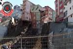 Kağıthane'deki bina böyle çöktü!