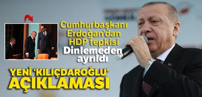 Cumhurbaşkanı Erdoğan'dan Kemal Kılıçdaroğlu açıklaması