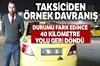 Sabiha Gökçen Havalimanı'ndan taksiye binen Azeri uyruklu bir turist, takside yaklaşık 10 bin TL...