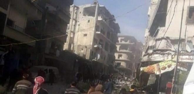 İdlib'te patlama: 12 ölü!