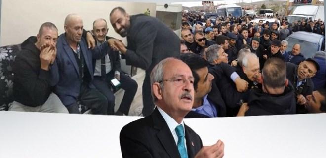 Kılıçdaroğlu'na yumruk atan şahıs böyle karşılandı!