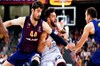 Anadolu Efes, THY Euroleague Play-Off üçüncü karşılaşmasında deplasmanda İspanya'nın Barcelona...