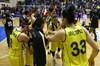 Kadınlar Basketbol Süper Ligi Play-off yarı final ilk maçında Fenerbahçe, konuk ettiği...