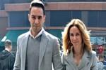Demet Şener ve Cenk Küpeli el ele alışveriş yaptı