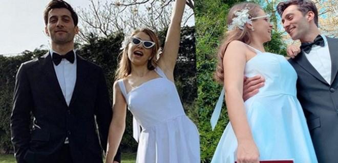 Hande Erçel'in ablası Gamze Erçel evlendi