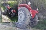 Elazığ'da traktör kazası!