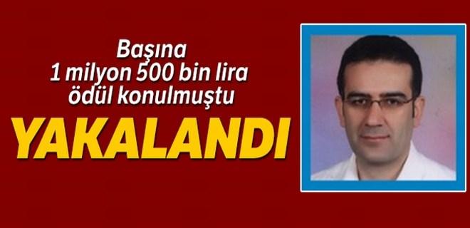 Başına 1 milyon 500 bin lira ödül konulan terörist yakalandı