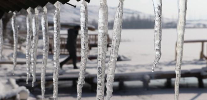 Doğu Anadolu Bölgesi'nde soğuk hava hakim