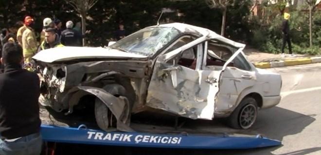 İstanbul'da ehliyetsiz genç sürücü dehşeti!