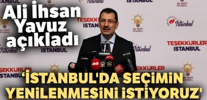 AK Parti Genel Başkan Yardımcısı Yavuz'dan seçim açıklaması!