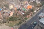 Bolivya'da toprak kayması: 17 ev yıkıldı