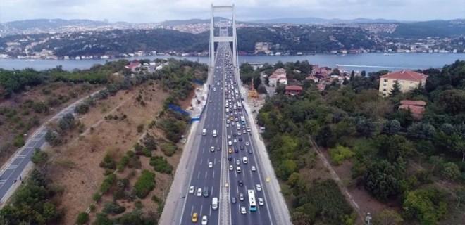 Gözler köprü ve otoyollara çevrildi