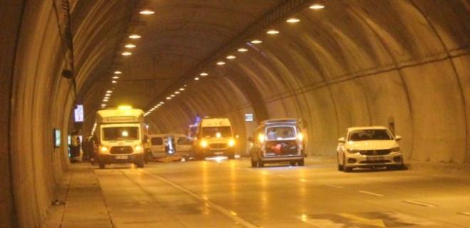 Dolmabahçe Tüneli'nde feci motosiklet kazası