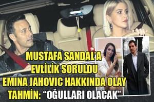 Mustafa Sandal ve Emina Jahovic fırtına gibi esiyor
