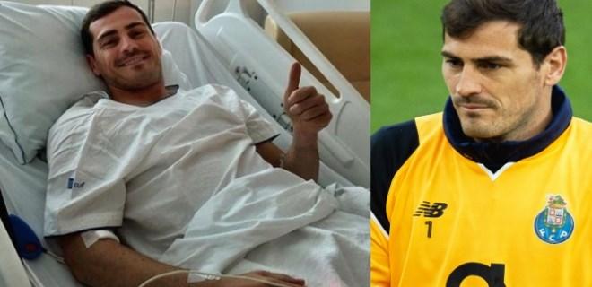 Kalp krizi geçiren Casillas futbolu bıraktı