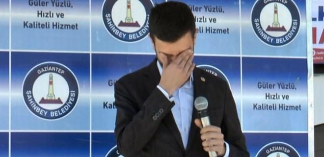 Milletvekilini hüngür hüngür ağlatan açılış