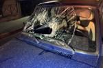Gece yürüyüşüne çıkan gence otomobil çarptı