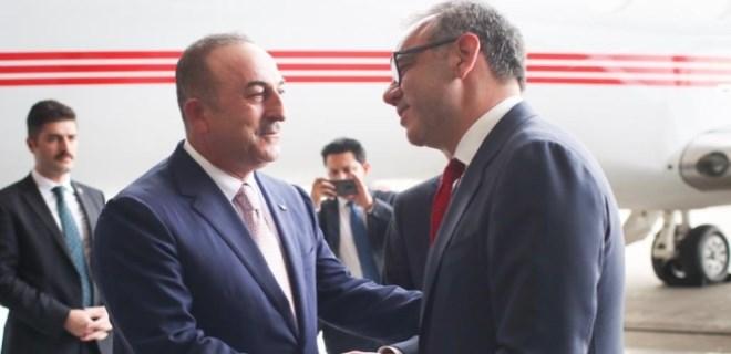 Bakan Mevlüt Çavuşoğlu Meksika'da