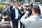 Ekrem İmamoğlu'na vatandaşlardan yoğun ilgi