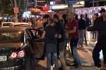 Kutlama yapan Galatasaray taraftarına saldırı