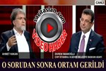 Ahmet Hakan sordu, Ekrem İmamoğlu yanıtladı