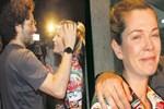 Muhabirlerin sorusu Begüm Kütük'ü ağlattı