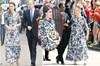 Kate Middleton, çiçekli elbiseyle boy gösterdi. Ancak aynı elbise, geçen yıl 86 yaşındaki Kent...