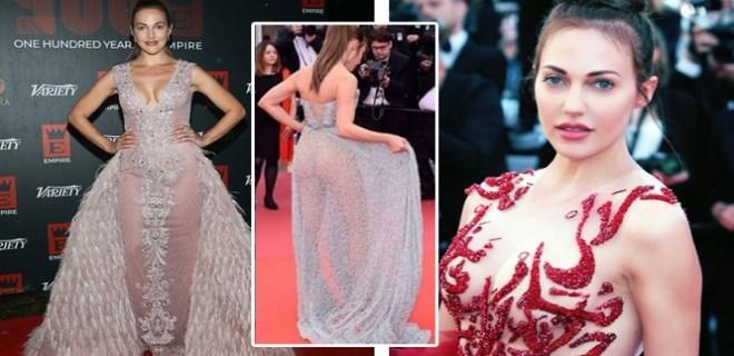 Meryem Uzerli 72. Cannes Film Festivali'nin en rüküşü seçildi