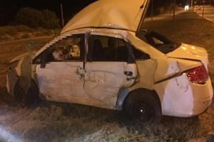 Denizli'de çok acı kaza