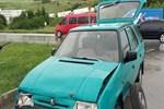 Hastane yolunda kaza: 1 yaralı