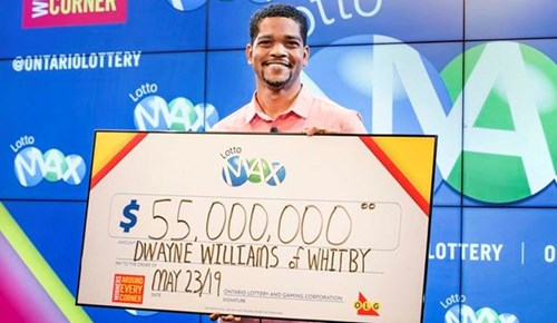 Piyangodan tam 55 milyon dolar kazandı!