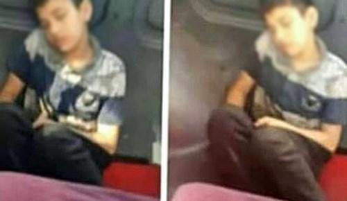 Üstü kirli diye koltuğa oturulmayan çocuk konuştu