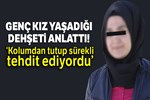 Erzurum'da 'platonik aşk dehşeti!