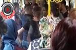Halk otobüsünde taciz iddiası!