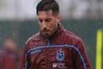 Trabzonspor yağmur altında çalıştı