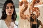Amine Gülşe yeni yaşını böyle kutladı
