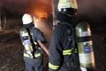 Kavacık'ta korkutan yangın!