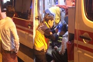 Fatih Yedikule'de binanın tabanı çöktü
