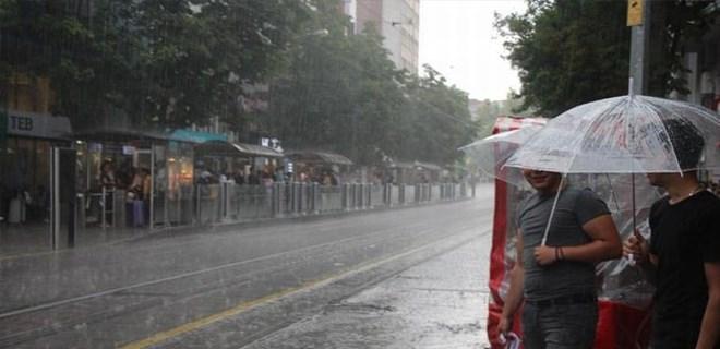 Yağışlı hava etkisini sürdürecek mi?