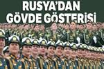 Rusya'dan Kızıl Meydan'da gövde gösterisi