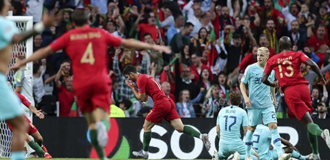 UEFA Uluslar Ligi'nde şampiyon Portekiz