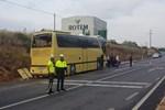 Bandırma'da feci tur otobüsü kazası!