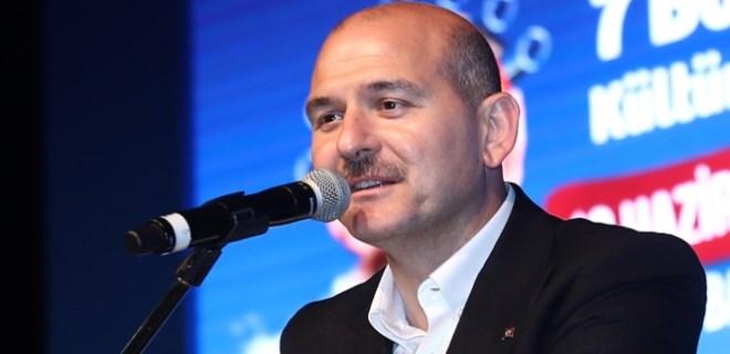 Süleyman Soylu'dan ABD'ye mesaj
