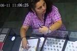 Kadın hırsızın 'Pes' dedirten rahatlığı!