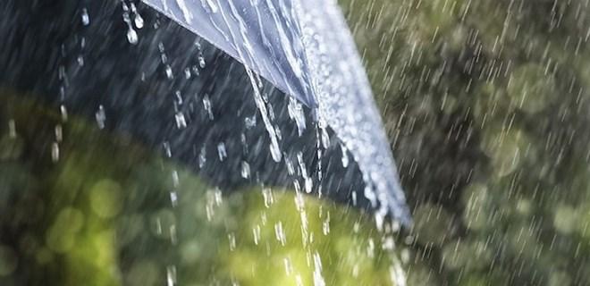Öğle saatlerinde kuvvetli yağışa dikkat!