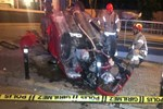 Beşiktaş'ta ticari aracın çarptığı otomobil takla attı