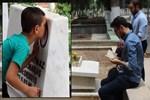 Bayramda mezarlıklara ziyaretçi akını