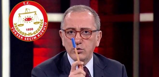 Fatih Altaylı YSK'yı yerden yere vurdu!