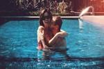 Şükran Ovalı ve Caner Erkin'in havuz romantizmi